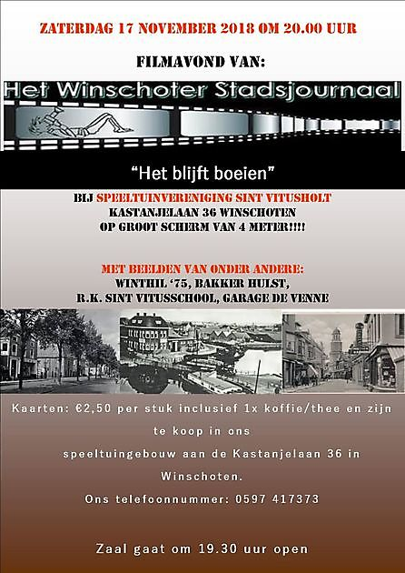 Reisbioscoop - Stichting Het Winschoter Stadsjournaal