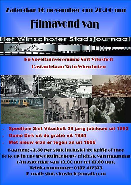 Reisbioscoop weer op reis - Stichting Het Winschoter Stadsjournaal