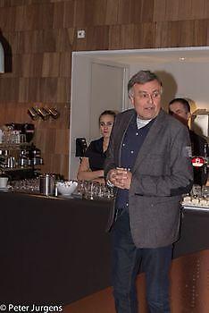 Jan Witter, met het openingswoord Stichting Het Winschoter Stadsjournaal