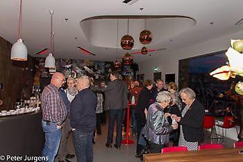 Een korte receptie voor de oude leden van Stadsjournaal Stichting Het Winschoter Stadsjournaal