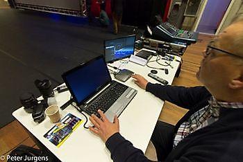 Inregelen van de apparatuur Stichting Het Winschoter Stadsjournaal