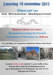 Filmavond speeltuinvereniging Stichting Het Winschoter Stadsjournaal