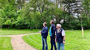 Drone vliegen Stichting Het Winschoter Stadsjournaal